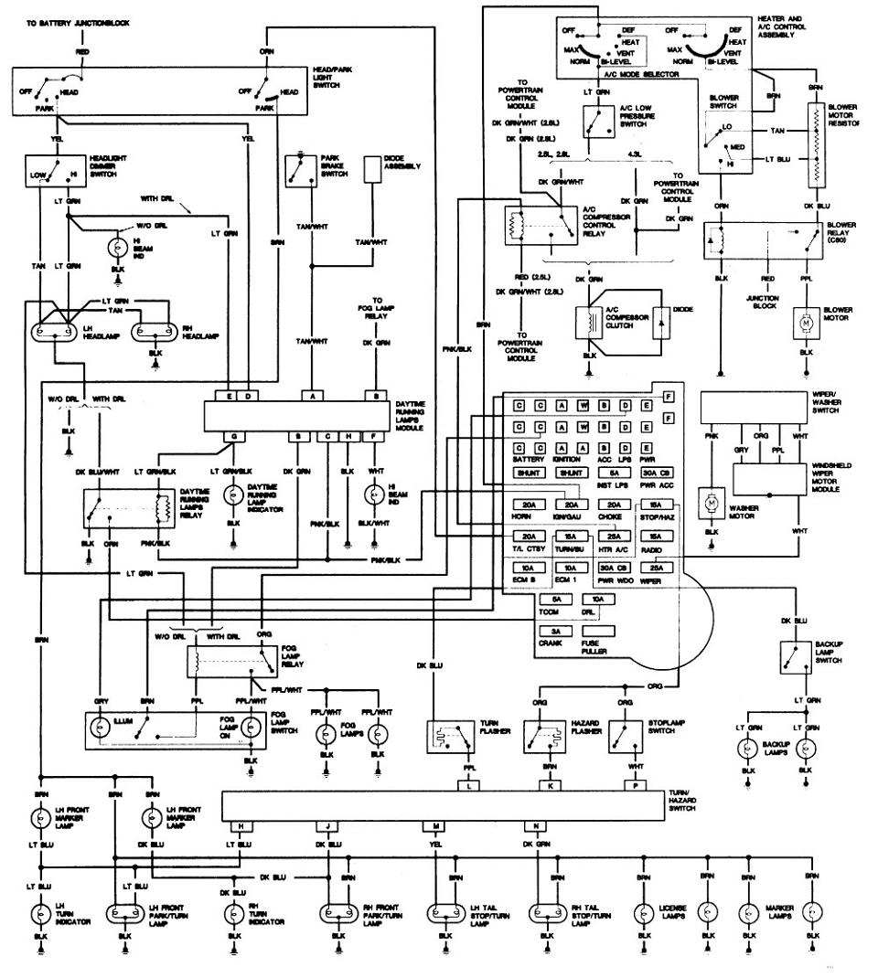 ECU GMC S15 diagnostico | Foromecanicos Gmc Ecu Wiring Diagram on gm horn diagram, gm steering column diagram, ecu block diagram, gm 1228747 computer diagram, gm transmission diagram, toyota 4runner diagram, ecu fuse diagram, ecu circuits, ecu schematic diagram, gm power steering pump diagram, nissan sentra electrical diagram, exhaust diagram,