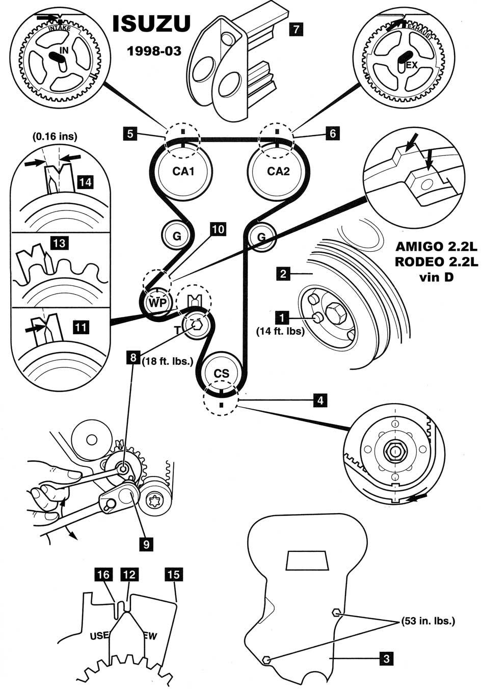 2002 Isuzu Rodeo Engine Diagram Http Wwwautoelectronicocom 008